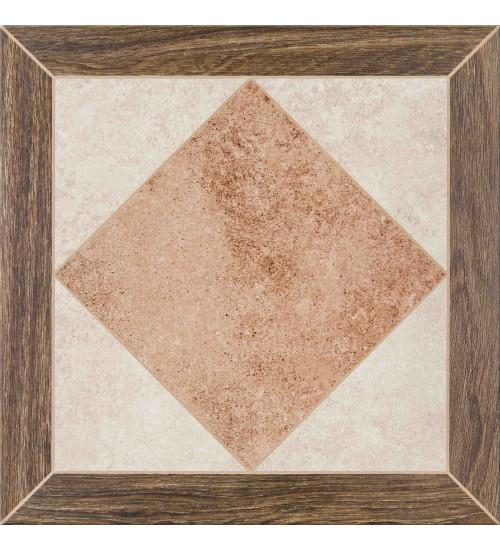 (C-PE4R452D) глаз. керамогранит: Persa Wood Frame, 42x42, Сорт1