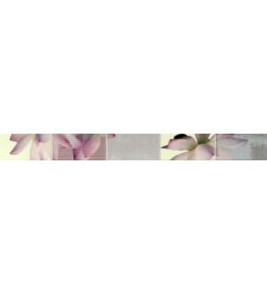 Бордюр 5*50 REIMS Malva/Rosa