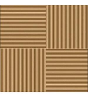 Кер. плитка для пола LINES BROWN 32,7*32,7  коричневый (Люкс)