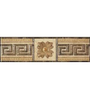 Вставка  напольный  10*10   Alhambra Marron