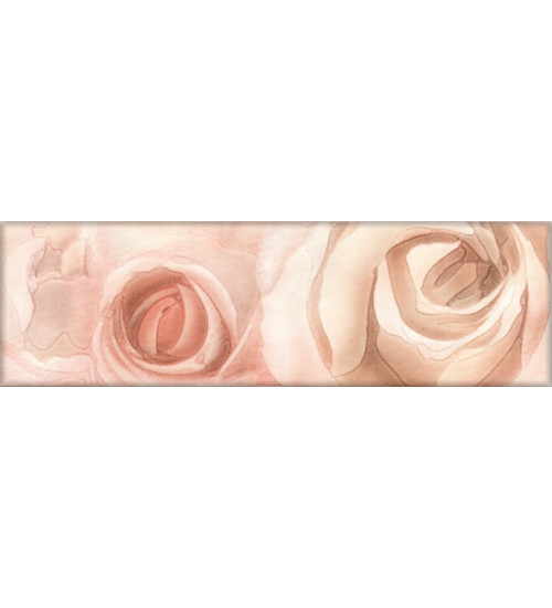 (272841) Флёр Бордюр 7,5х25 розовый
