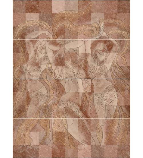 (C-MQ2H114DT) панно: Morocco, 80x60, Сорт1