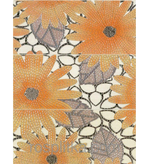 (367531) Панно из 3-х пл. Spring marfil 60*45
