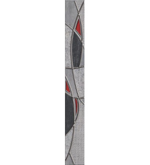 Бордюр 63*7.5 PANDORA GREY CHARM 16 шт 1с