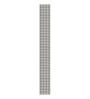 Бордюр 63*7,5 PANDORA GREY GEOMETRY 13 шт 1с