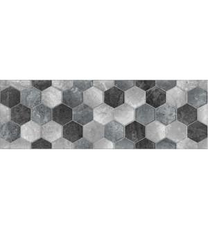 1064-0004 Плитка облицовочная Gesso 20*60 орнамент  рельеф