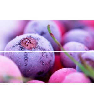 Beveled Tile Frozen berries 10*30 панно (BT-P-FB)