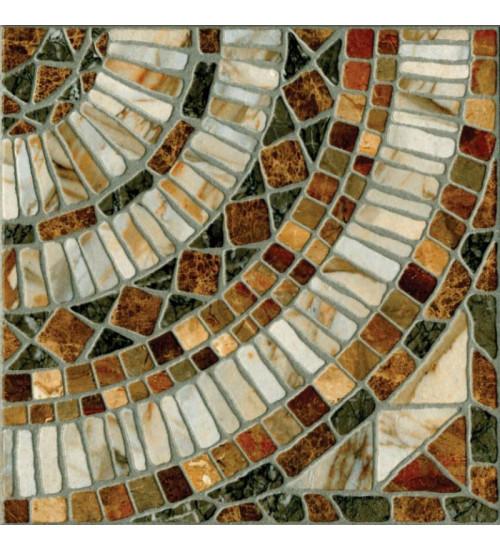 (725962) КГ Мюнхен Мозаичный пол Декор 33*33 корич.