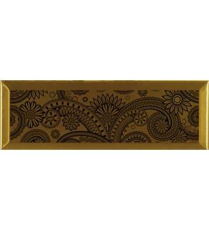 Decor Ornamental Gold Negro 10*30