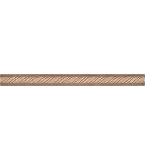 (196) Карандаш Косичка 20*1,5 коричневый