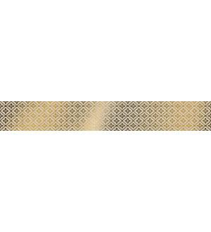 Бордюр стеклянный  UG1A062  4.8*60  жёлтый