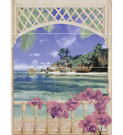 (C-MU2H454DT\A) панно: Muza Bali 1, 80x60, Сорт1