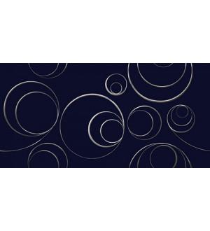 Декор STELLA Arabesco  blu 31.5*63