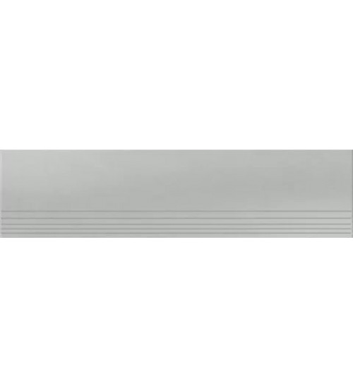УГ UF002 ступени ректиф.светло-серый 1200х295х11мм матовые моноколор