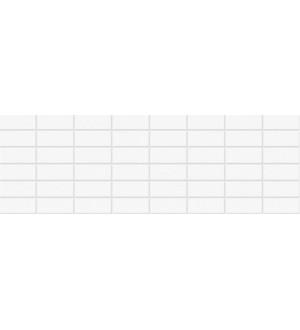 1064-0008 Плитка облицовочная Elle белая 20*60
