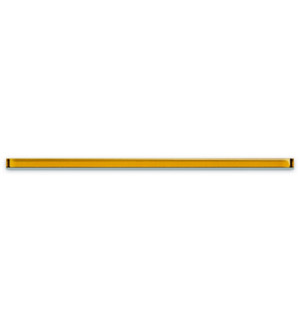 Бордюр стеклянный  UG1L062  2*60  жёлтый