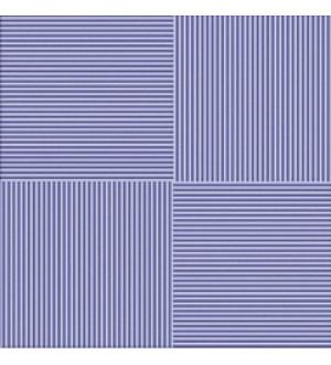 Кер. плитка для пола LINES BLUE 32,7*32,7  синий (Люкс)