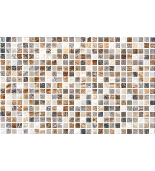 (123861) Мармара Мозайка облиц.пл.25*40 коричн.