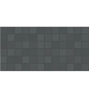1041-0155 Настенная плитка  Unica 19,8*39,8 темно- серая
