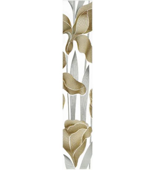 Бордюр Iris  70*400 белый широкий (30061)