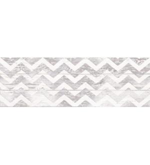 (1064-0098) Плитка настенная ШЕББИ ШИК декор 20х60 серый
