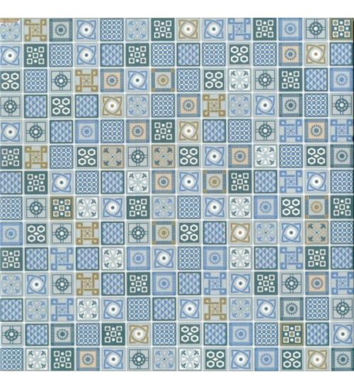 (734312)  КГ Армония 45*45 голубой глазур.