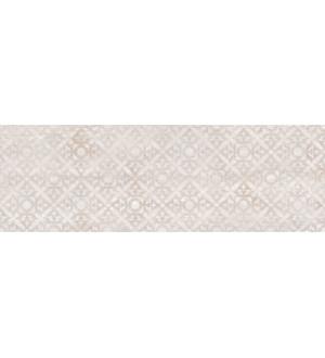 Облицовочная плитка Alba (C-AIS012D) 20*60 орнамент бежевый