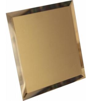 КЗБм1-03 Квадратная бронзовая матовая плитка (25*25)