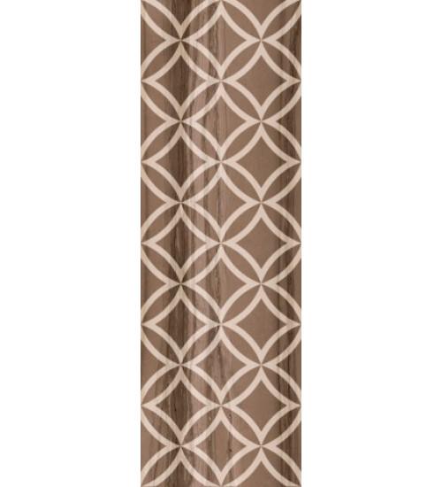 (1664-0031) МОДЕРН МАРБЛ декор 1 20х60 темный