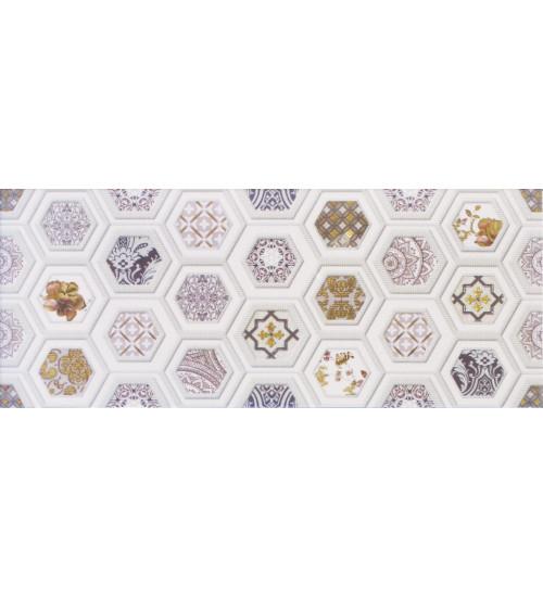 Декор настенный Unicer Glam Gio 1 Marfil 23,5x58