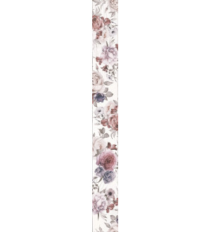 (1506-0018) ШЕББИ ШИК бордюр 7x60 белый