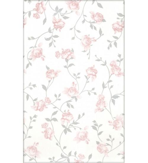 (122342) Капри облиц.пл. 25*40 розовый цветы