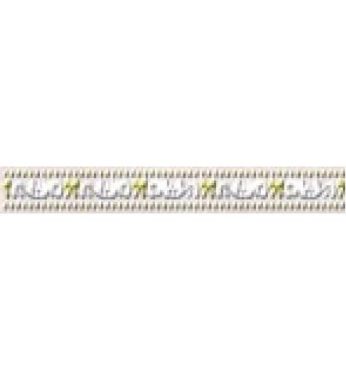 (15010039) Оникс Сенс бордюр розовый 3*25