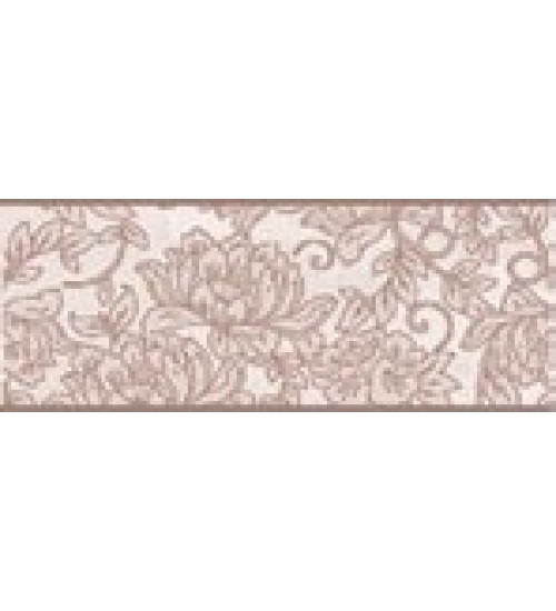 (15010040) Оникс Аирис бордюр розовый 10*25