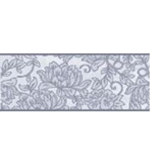 (15010043) Оникс Аирис бордюр голубой 10*25