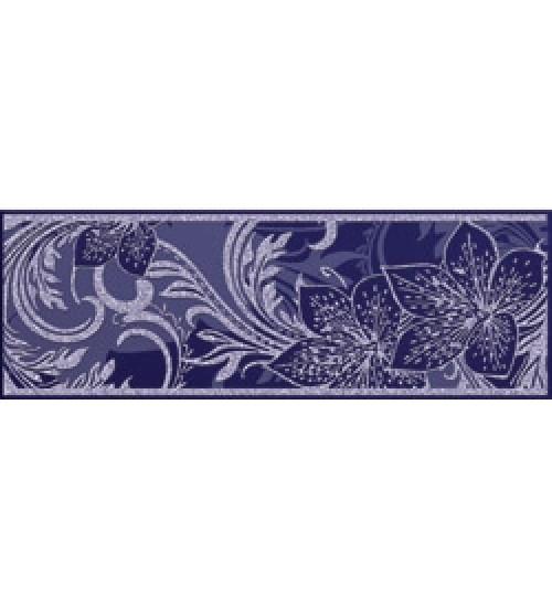 (15010055) Азур Фриз синий 8,5х25