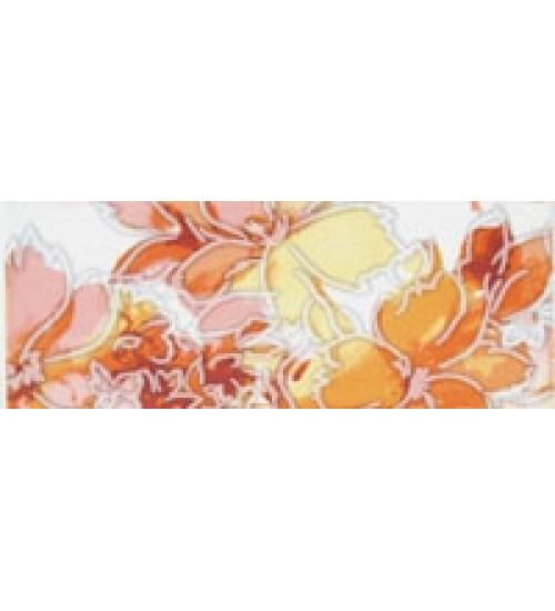 (15010062) Акварель бордюр оранж 7,5*20