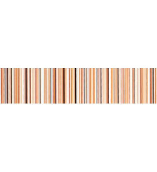 (15020528) Камила бордюр полоска оранж 5,3*20
