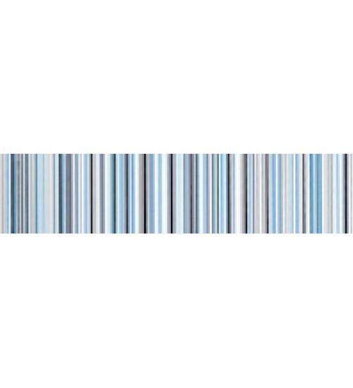 (15020529) Камила бордюр полоска голубой 5,3*20
