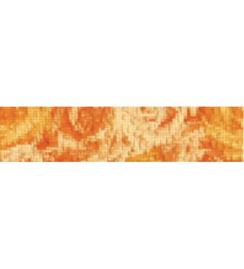 (15020531) Фьюжн бордюр 2 оранж горизонтальный9*20