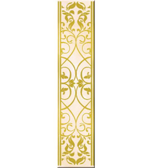 (15020552) Лория бордюр желтый 40*9