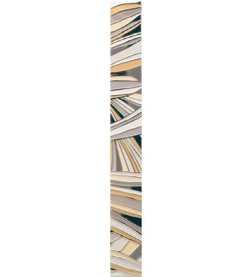 (15040070) Камила бордюр цветы бежевый 4,4*40