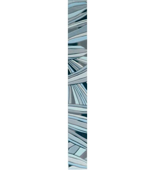 (15040072) Камила бордюр цветы голубой 4,4*40
