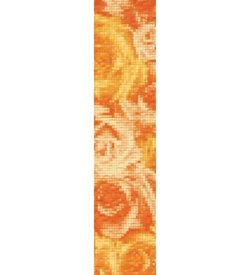 (15040076) Фьюжн бордюр 1 оранж вертикальный 9*40