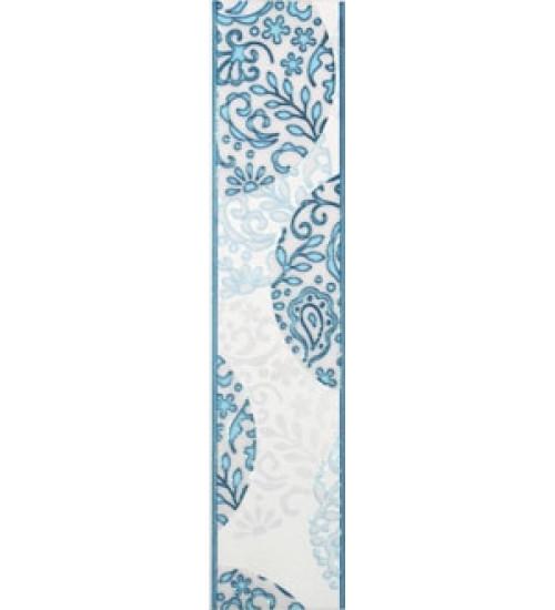 (15070001) Аврора бордюр синий 7,5*33