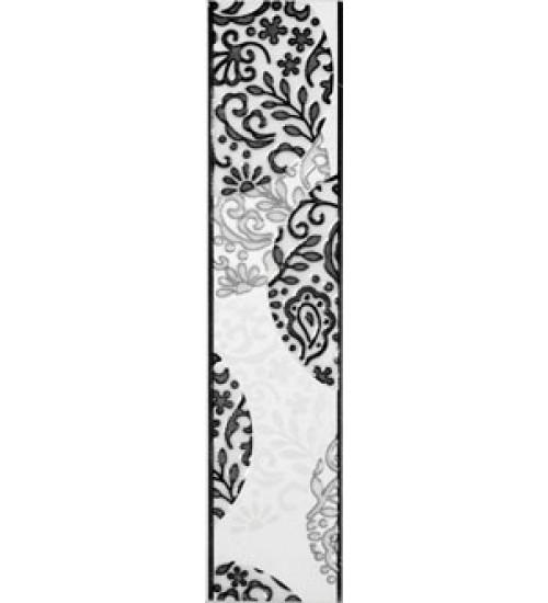 (15070006) Аврора бордюр черый 7,5*33