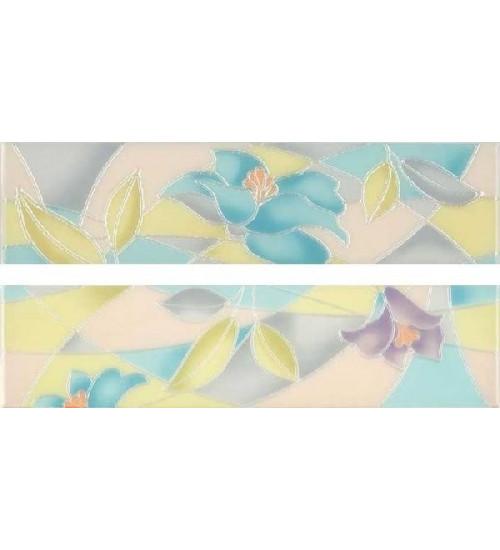(16040029) Акварель Нега декор цветы 40*9