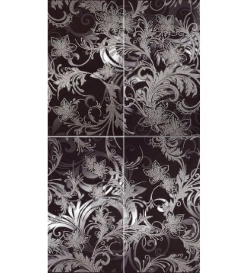 (16090001) Азур панно графит 50х90