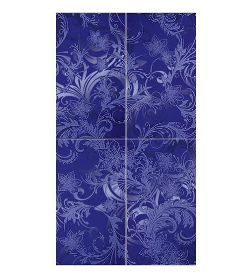 (16090006) Азур панно синий 50х90