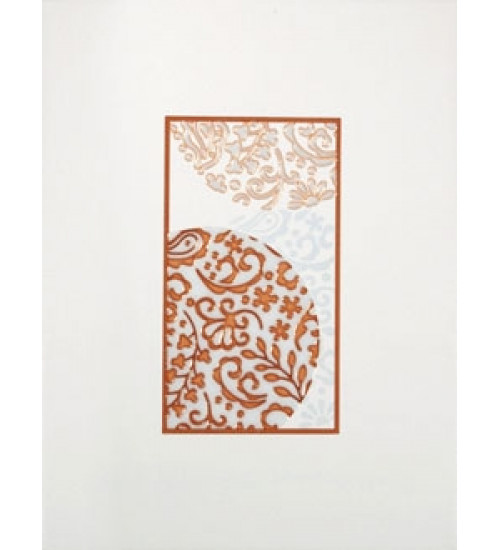 (16340079) Аврора декор оранж 25*33